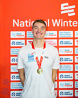 Picture by Allan McKenzie/SWpix.com - 13/12/2017 - Swimming - Swim England Winter Championships - Ponds Forge International Sport Centre - Sheffield, England - James Wilby takes gold in the mens open 200m breastroke.