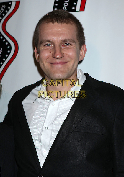 Pawel Wysoczanski<br /> 13th annual Polish film festival at American Cinematheque's Egyptian Theatre, Hollywood, California, USA.<br /> 9th October 2012<br /> headshot portrait black suit jacket white shirt <br /> CAP/ADM/RE<br /> &copy;Russ Elliot/AdMedia/Capital Pictures