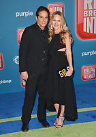 "LOS ANGELES, CA. November 05, 2018: Linda Larkin & Yul Vazquez at the world premiere of ""Ralph Breaks The Internet"" at the El Capitan Theatre.<br /> Picture: Paul Smith/Featureflash"