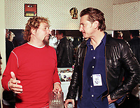 Sammy Hagar and Sean Penn<br /> May 7, 2002<br /> **NO GERMANY**<br /> &copy; Jay Blakesberg / MediaPunch