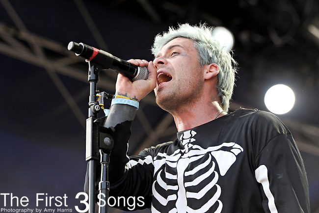 Eric Victorino of The Limousines performs during Day 3 of the Voodoo Experience at City Park in New Orleans, Louisiana on October 30, 2011.