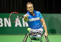 Februari 12, 2015, Netherlands, Rotterdam, Ahoy, ABN AMRO World Tennis Tournament, Nicolas Peifer (FRA)<br /> Photo: Tennisimages/Henk Koster