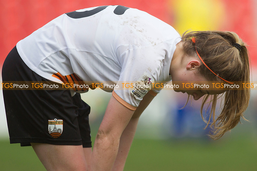Aoife Hurley of Bees during Doncaster Rovers Belles vs London Bees, FA Women's Super League FA WSL2 Football at the Keepmoat Stadium on 12th March 2017