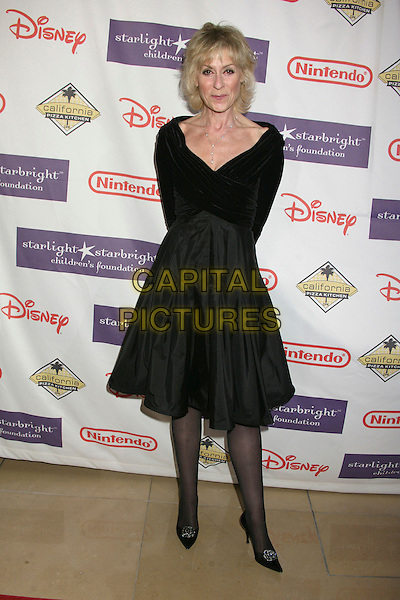 "JUDITH LIGHT.Starlight Starbright Foundation's ""A Stellar Night Gala"" 2007 at the Beverly Hilton Hotel, Beverly Hills, California , USA, 23 March 2007..full length black dress.CAP/ADM/BP.©Byron Purvis/AdMedia/Capital Pictures."