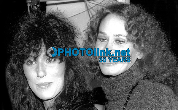 Cher Karen Black 1982<br /> Photo By Adam Scull/PHOTOlink.net