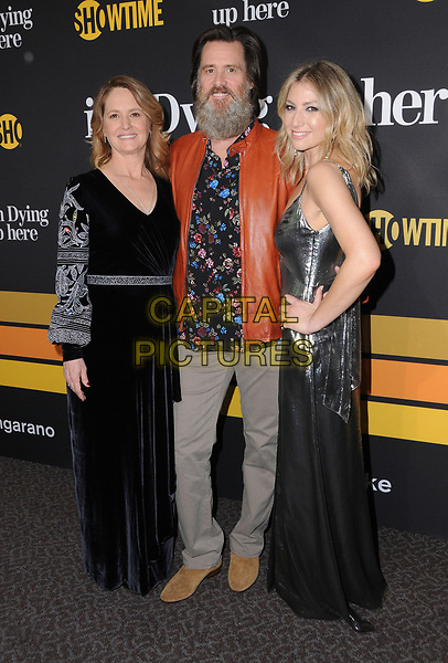 31 May 2017 - Los Angeles, California - Melissa Leo, Jim Carrey, Ari Graynor. Premiere of Showtime's &quot;I'm Dying Up Here&quot; held at DGA Theater in Los Angeles. <br /> CAP/ADM/BT<br /> &copy;BT/ADM/Capital Pictures