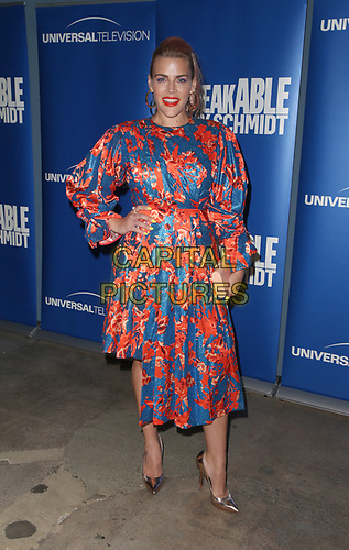 "29 May 2019 - Los Angeles, California - Busy Philipps. NBC FYC Series ""Unbreakable Kimmy Schmidt"" held at UCB Sunset Theatre.   <br /> CAP/ADM/FS<br /> ©FS/ADM/Capital Pictures"