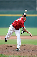 July 20th 2008:  Pitcher J.D. Martin of the Buffalo Bisons, Class-AAA affiliate of the Cleveland Indians, during a game at Dunn Tire Park in Buffalo, NY.  Photo by:  Mike Janes/Four Seam Images