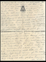 BNPs.co.uk (01202 558833)<br /> Pic: IAALtd/BNPS <br /> <br /> ***Use Full Byline***<br /> <br /> Page eighteen of Edward VIII letter. <br /> <br /> A remarkable letter written by controversial monarch Edward VIII that exposes him as an ungrateful, sexist and racist prince has come to light.<br /> The Prince of Wales, who later became the first King to voluntarily abdicate, told of the 'miserable and loathsome' time he was having on a Caribbean cruise.<br /> He visited Barbados in 1920 in what was supposed to be a diplomatic trip of the British Empire but he described the tropical paradise as a 'bum place'.<br /> The Royal reported the local scenery as being 'ugly' and he found the 'coloured population' to be 'revolting'.<br /> The letter is being sold on Saturday in London.