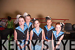 Pictured at the Academy of Dance anual show held in Siamsa on Sunday were: Niamh Doogan Jones, Ciara Butler, Katie Crean, Anna Roberts, Lucy Finn.