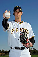 Feb 28, 2010; Bradenton, FL, USA; Pittsburgh Pirates  pitcher Jimmy Barthmaier (66) during  photoday at Pirate City. Mandatory Credit: Tomasso De Rosa/ Four Seam Images