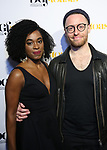 Kristolyn Lloyd and Matt Gould attends the Dramatists Guild Foundation toast to Stephen Schwartz with a 70th Birthday Celebration Concert at The Hudson Theatre on April 23, 2018 in New York City.