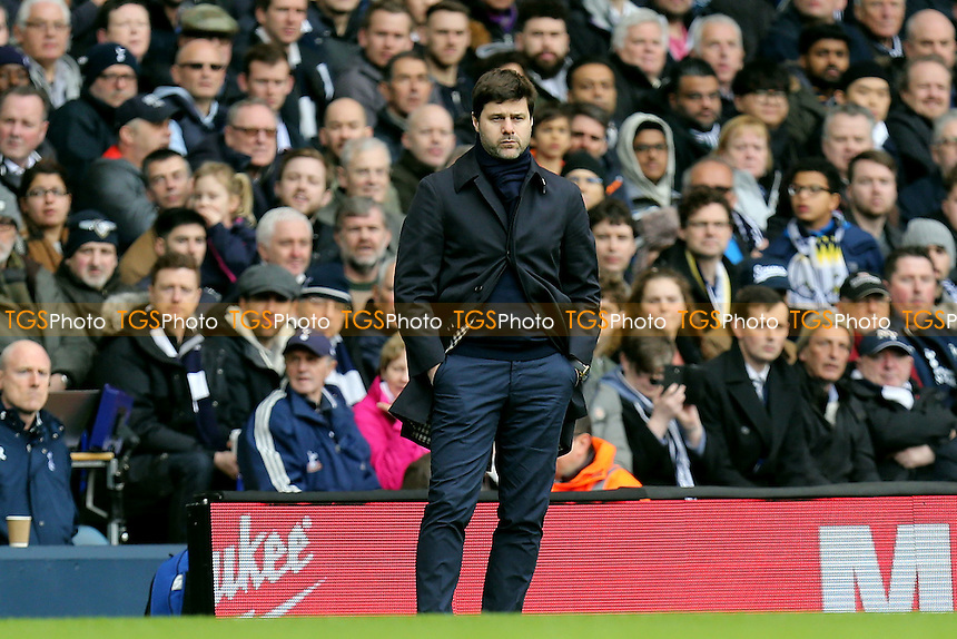 Tottenham Hotspur manager Mauricio Pochettino during Tottenham Hotspur vs Stoke City, Premier League Football at White Hart Lane on 26th February 2017