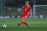 Emma Jones of Wales Women's' in action during the Women's International Friendly match between Wales and New Zealand at the Cardiff International Sports Stadium in Cardiff, Wales, UK. Tuesday 04 June, 2019