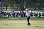 Rafael Cabrera Bello of Spain plays an approach shot during the 58th UBS Hong Kong Golf Open as part of the European Tour on 11 December 2016, at the Hong Kong Golf Club, Fanling, Hong Kong, China. Photo by Vivek Prakash / Power Sport Images