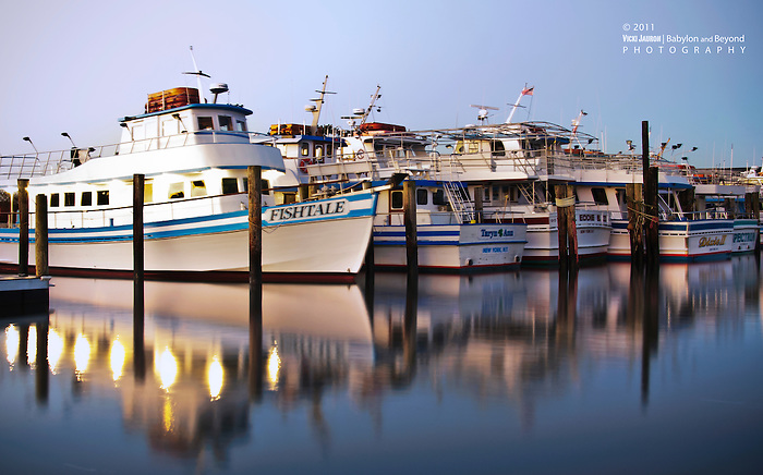 Fishtale and Other Fishing Vessels at Captree State Park, Long Island, New York