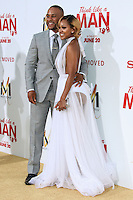 HOLLYWOOD, LOS ANGELES, CA, USA - JUNE 09: DeVon Franklin, Meagan Good at the Los Angeles Premiere Of Screen Gems' 'Think Like A Man Too' held at the TCL Chinese Theatre on June 9, 2014 in Hollywood, Los Angeles, California, United States. (Photo by David Acosta/Celebrity Monitor)