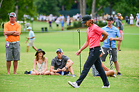 Tommy Fleetwood (ENG) approaches the 5th tee during Friday's round 2 of the PGA Championship at the Quail Hollow Club in Charlotte, North Carolina. 8/11/2017.<br /> Picture: Golffile | Ken Murray<br /> <br /> <br /> All photo usage must carry mandatory copyright credit (&copy; Golffile | Ken Murray)