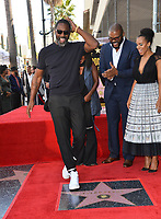LOS ANGELES, CA. October 01, 2019: Idris Elba, Tyler Perry & Kerry Washington at the Hollywood Walk of Fame Star Ceremony honoring Tyler Perry.<br /> Pictures: Paul Smith/Featureflash