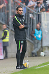 22.07.2017, Millerntor-Stadion, Hamburg, GER, FSP, FC St. Pauli vs SV Werder Bremen<br /> <br /> im Bild<br /> Alexander Nouri (Trainer SV Werder Bremen) mit verschr&auml;nkten Armen, <br /> <br /> Foto &copy; nordphoto / Ewert