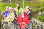 GOING CUCKOO: Planning ahead for the annual Cuckoo Walking Festival in Tarbert next weekend, l-r: Patricia Lanigan, Michael Lanigan, Paul Mulvihill, Joan Murphy, John Fox, all of the Tarbert Development Association.