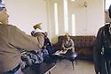 Irak 1991.Réunion avec Massoud Barzani.Iraq 1991.Meeting with Massoud Barzani