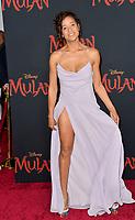 "LOS ANGELES, CA: 09, 2020: Dania Ramirez at the world premiere of Disney's ""Mulan"" at the El Capitan Theatre.<br /> Picture: Paul Smith/Featureflash"