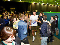 11-02-14, Netherlands,Rotterdam,Ahoy, ABNAMROWTT,Juan-Martin Del Potro(ARG)<br /> Photo:Tennisimages/Henk Koster