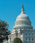 United States Senate and Capitol Dome, Capitol Hill, National Mall, Washington DC