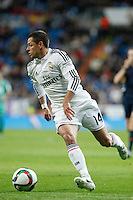 Real Madrid´s Chicharito during Spanish King Cup match between Real Madrid and Cornella at Santiago Bernabeu stadium in Madrid, Spain.December 2, 2014. (NortePhoto/ALTERPHOTOS/Victor Blanco)