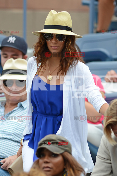 FLUSHING NY- SEPTEMBER 3: Eva Longoria is sighted watching Serena Williams Vs Andrea Hlavackova match on Arthur Ashe stadium at the USTA Billie Jean King National Tennis Center on September 3, 2012 in in Flushing Queens. Credit: mpi04/MediaPunch Inc. ***NO NY NEWSPAPERS*** /NortePhoto.com<br /> <br /> **CREDITO*OBLIGATORIO** <br /> *No*Venta*A*Terceros*<br /> *No*Sale*So*third*<br /> *** No*Se*Permite*Hacer*Archivo**<br /> *No*Sale*So*third*