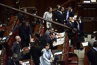 Roma, 20 Aprile 2013.Camera dei Deputati.Votazione del Presidente della Repubblica a camere riunite..Renata Polverini