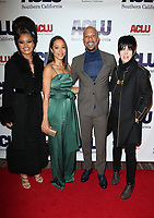 BEVERLY HILLS, CA - DECEMBER 3: Andra Day, Angela Rye, Common, Diane Warren, at ACLU SoCal's Annual Bill Of Rights Dinner at the Beverly Wilshire Four Seasons Hotel in Beverly Hills, California on December 3, 2017. Credit: Faye Sadou/MediaPunch /NortePhoto.com NORTEPHOTOMEXICO