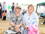 Mairead Byrne and Deirdre Maguire pictured at the Wee County Fair. Photo:Colin Bell/pressphotos.ie