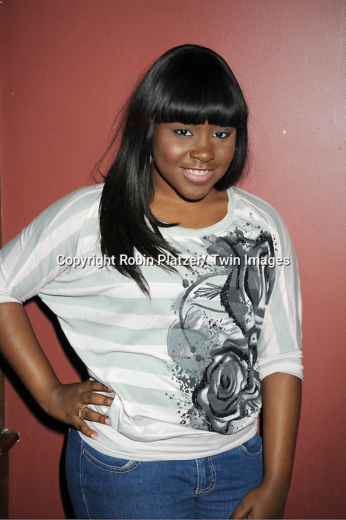 Shenell Edmonds attends The One Life To Live Benefit for The Amber Roach Memorial Garden on January 7, 2012 at Brother ..Jimmy's Union Square Restaurant in New York City.