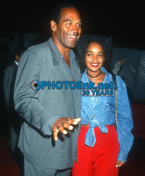 OJ Simpson & daughter Arnelle Simpson 1990s<br /> Photo By Michael Ferguson/PHOTOlink.net