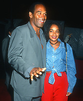 OJ Simpson & daughter Arnelle Simpson 1990s<br /> Photo By Michael Ferguson/PHOTOlink.net