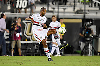Orlando, FL - Saturday Jan. 21, 2017: São Paulo defender Douglas (26) during the first half of the Florida Cup Championship match between São Paulo and Corinthians at Bright House Networks Stadium.