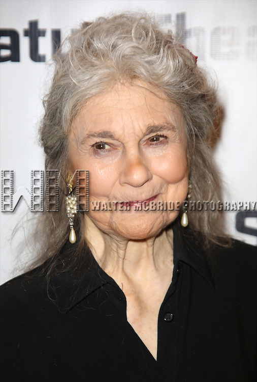 Lynn Cohen attends the Off-Broadway Opening Night party for 'Big Love' at the Signature Theatre Company's Pershing Square Signature Center on February 23, 2015 in New York City.