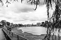 """Chiswick. Greater London. General View of the """"Hammersmith Bend"""" - Chiswick Mall and embankment  Leading from Chiswick to Fulham Reach RC. Sunday.  24.07.2016  [Mandatory Credit: Peter Spurrier/Intersport-images.com]"""