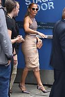 NEW YORK, NY- September 10: Jennifer Lopez at Strahan, Sara & Keke promoting Hustlers on September 10, 2019 in New York City. Credit: RW/MediaPunch