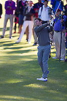 Rory McIlroy (Team Europe) on the 7th fairway during the Saturday morning Foursomes at the Ryder Cup, Hazeltine national Golf Club, Chaska, Minnesota, USA.  01/10/2016<br /> Picture: Golffile | Fran Caffrey<br /> <br /> <br /> All photo usage must carry mandatory copyright credit (&copy; Golffile | Fran Caffrey)