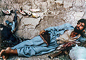 Iraq 1980<br /> The rest of the peshmergas during the armed struggle<br /> Irak 1980<br /> Repos du pehmerga pendant la lutte arm&eacute;e