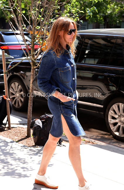 WWW.ACEPIXS.COM<br /> <br /> June 8 2015, New York City<br /> <br /> Designer Stella McCartney leaves a downtown hotel on June 8 2015 in New York City<br /> <br /> By Line: Curtis Means/ACE Pictures<br /> <br /> <br /> ACE Pictures, Inc.<br /> tel: 646 769 0430<br /> Email: info@acepixs.com<br /> www.acepixs.com