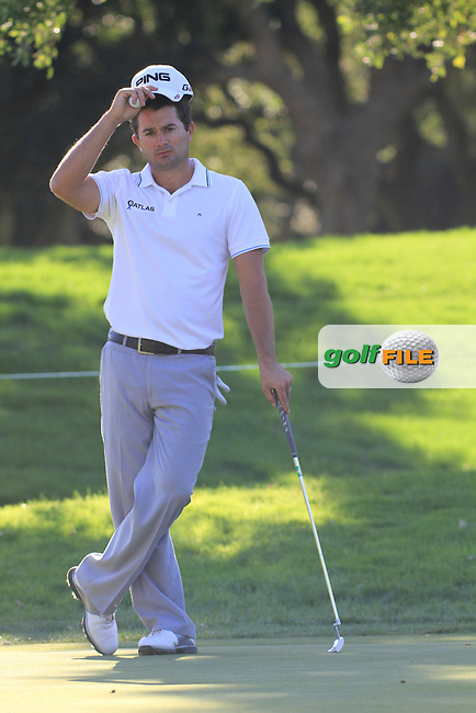 Gareth Maybin (NIR) during the 2nd day at the  Andalucía Masters at Club de Golf Valderrama, Sotogrande, Spain. .Picture Denise Cleary www.golffile.ie