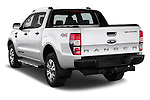 Car pictures of rear three quarter view of 2016 Ford Ranger Wildtrak 4 Door Pickup Angular Rear
