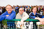 Jeremiah Davis, John O'Mahony and Michael Davis, supporting St Brendan's Ardfert at the County Senior Hurling final held in Abbeydorney on Sunday.