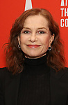 """Isabelle Huppert attends the Atlantic Theater Company """"Divas' Choice"""" Gala at the Plaza Hotel on March 4, 2019 in New York City."""