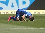 Torjubel des Torschützen Munas Dabbur (TSG 1899 Hoffenheim)<br /> <br /> Sport: Fussball: Bundesliga: Saison 19/20: TSG 1899 Hoffenheim-1.FC Union Berlin, 20.06.2020.<br /> <br /> Foto: RALF POLLER/AVANTI/POOL/PIX-Sportfotos<br /> <br /> Nur für journalistische Zwecke! Only for editorial use! <br /> Gemäß den Vorgaben der DFL Deutsche Fußball Liga ist es untersagt, in dem Stadion und/oder vom Spiel angefertigte Fotoaufnahmen in Form von Sequenzbildern und/oder videoähnlichen Fotostrecken zu verwerten bzw. verwerten zu lassen. DFL regulations prohibit any use of photographs as image sequences and/or quasi-video.