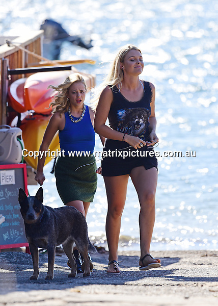 22 February 2017 SYDNEY AUSTRALIA<br /> WWW.MATRIXPICTURES.COM.AU<br /> <br /> EXCLUSIVE PICTURES<br /> Home &amp; Away filming at Palm Beach with  Raechelle Banno and Sophie Dillman  on 22 February 2017 .<br /> <br /> *No internet without clearance*.<br /> <br /> MUST CALL PRIOR TO USE <br /> <br /> +61 2 9211-1088. <br /> <br /> Matrix Media Group.Note: All editorial images subject to the following: For editorial use only. Additional clearance required for commercial, wireless, internet or promotional use.Images may not be altered or modified. Matrix Media Group makes no representations or warranties regarding names, trademarks or logos appearing in the images.